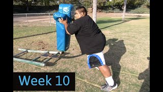 Weight-Loss Journey | Week 10 Pitbull Torres Hard Knocks NFL Training