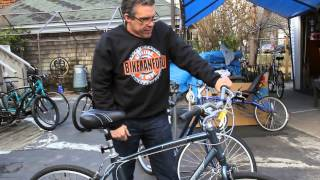 Giant's Cypress Bicycle - 2015 Hybrid Bike Check -  BikemanforU