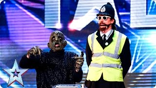 Will the Judges exterminate The Deep Space Deviants? | Auditions Week 5 | Britain's Got Talent 2016