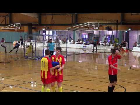 South Brisbane vs Redlands City - SEQFPL - Open Men Semi Final - 2016-2017