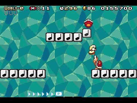 "[TAS] GBA Super Mario Advance 4: Super Mario Bros. 3 ""e-reader levels"" by Soig in 38:32.92"