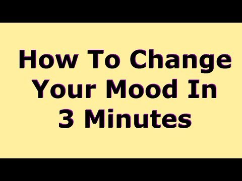 How To Change Your Mood In 3 Minutes. Motivational Speech!