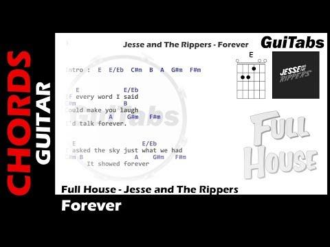 Full House - Forever ( Lyrics And GuiTar Chords ) 🎸