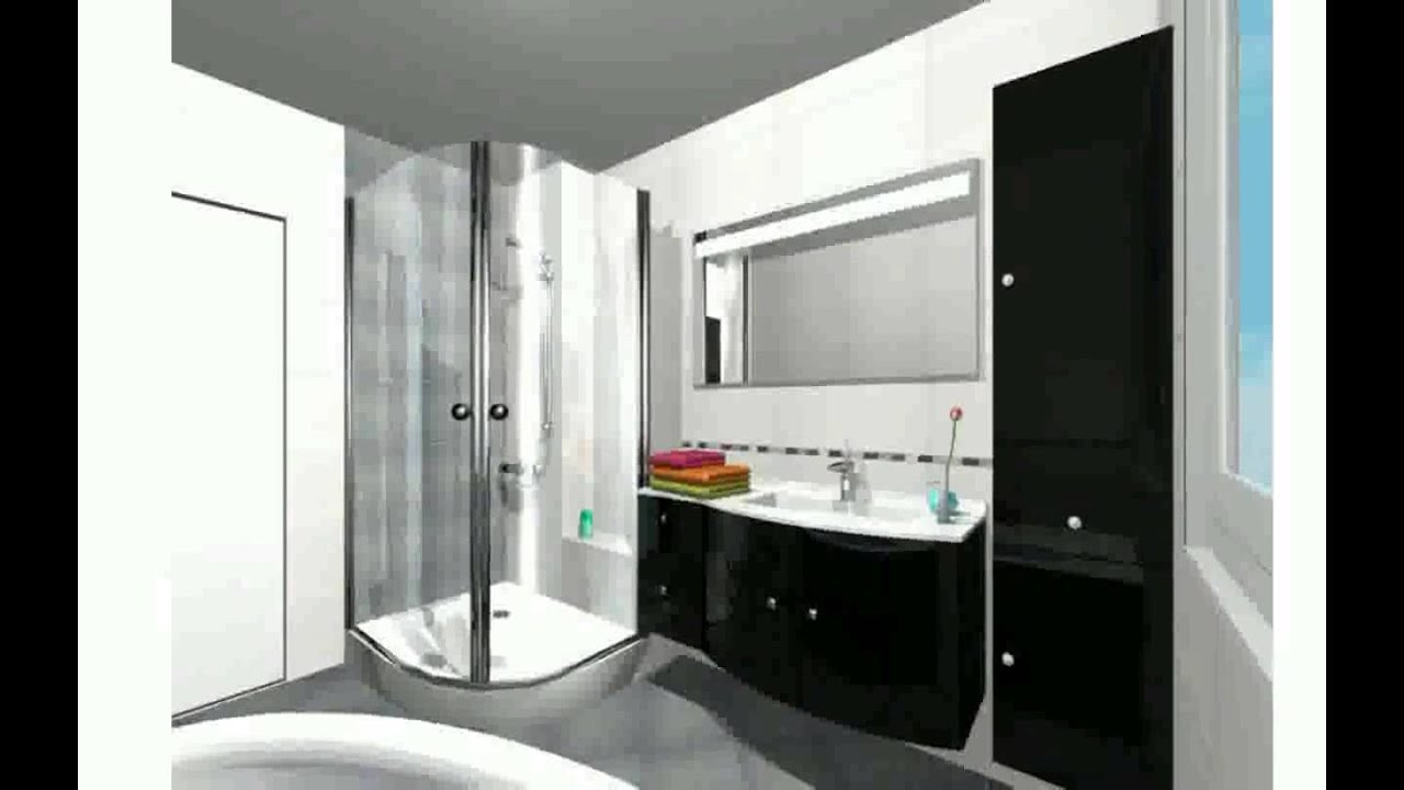 Agencement salle de bain youtube for Amenager chambre 6m2
