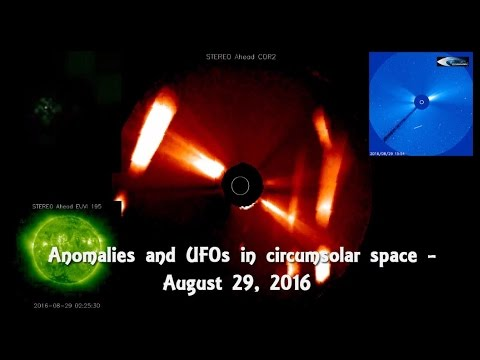Anomalies and UFOs in circumsolar space - August 29, 2016