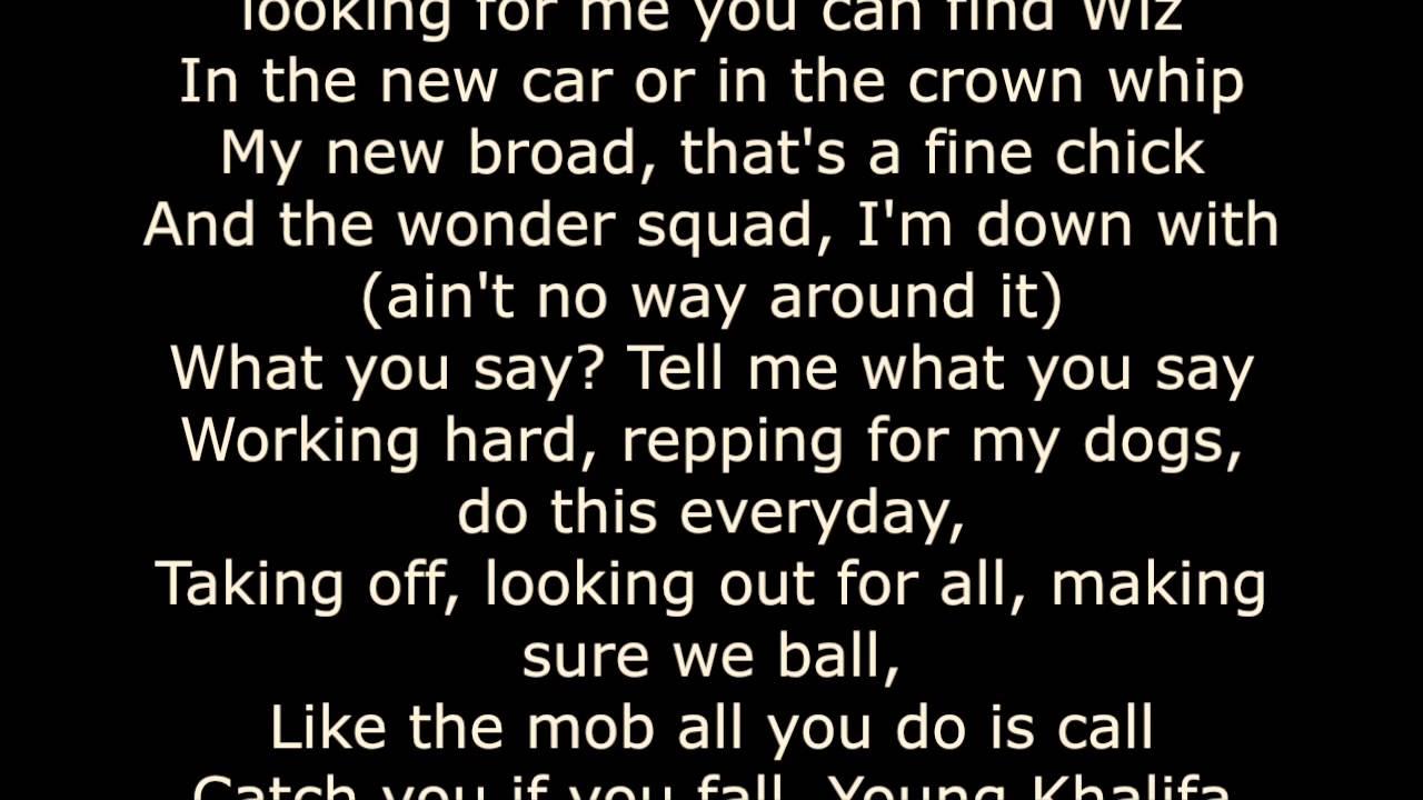 We Own It Lyrics Fast Furious 6