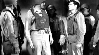 "Hit by a torpedo (""The Frogmen"", 1951)"