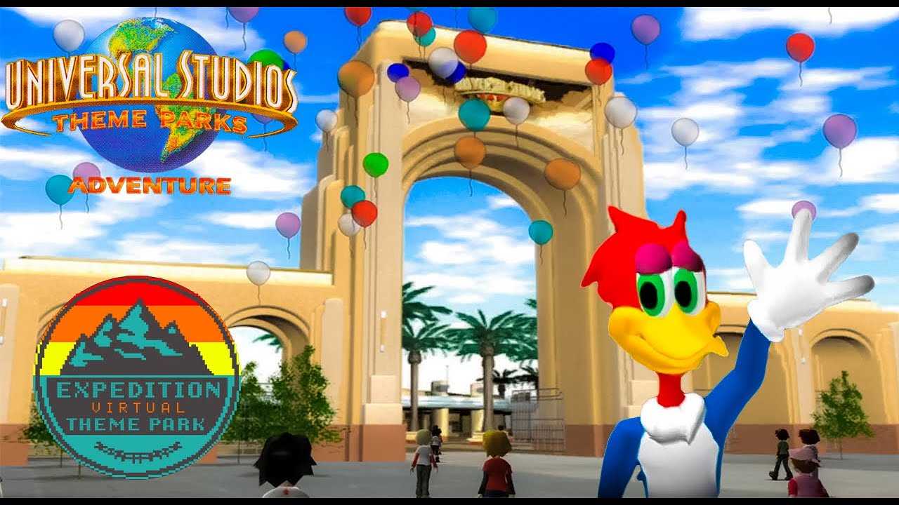 Universal Studios Theme Parks Adventure - The Worst GameCube Game | Expedition Virtual Theme Park
