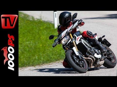 Metzeler Sportec-M7 RR - Reifentest auf Yamaha MT-09 Street Rally