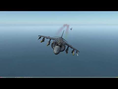 DCS: AV-8B N/A - Ramp Start e Rolling Vertical Takeoff (RVTO) PT-BR