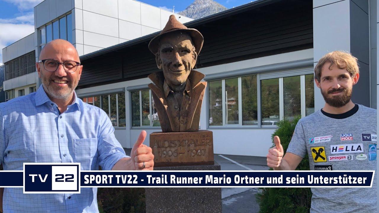 SPORT TV22: Trail Runner Mario Ortner und sein Unterstützer Andreas Kraler