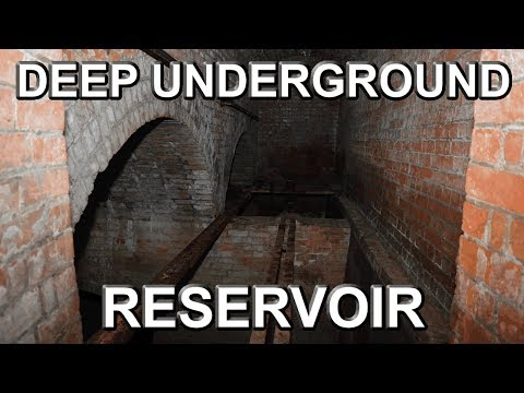 DEEP UNDERGROUND RESERVOIR - Used by Victorian Soft Drinks Company