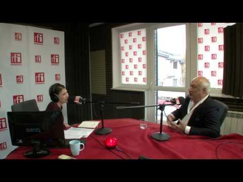 Mihaela Dedeoglu in dialog cu Eric Emmanuel Schmitt