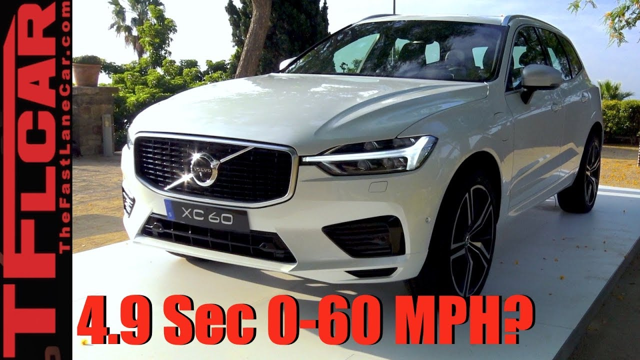 2018 Volvo Xc60 T8 Plugin Hybrid Everything We Know So Far
