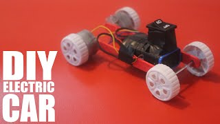 How to make a battery powered toy car - DIY Electric Car