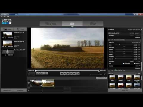 Zoom Transitions in GoPro Studio using Keyframes