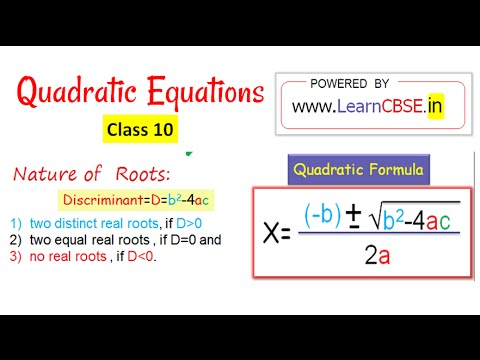 cbse class 10 maths quadratic equations solutions ex 4 3 word problems youtube. Black Bedroom Furniture Sets. Home Design Ideas
