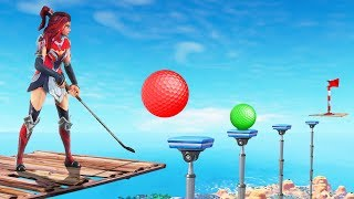 Fortnite MINI-GOLF Custom Game! (Fortnite Creative)