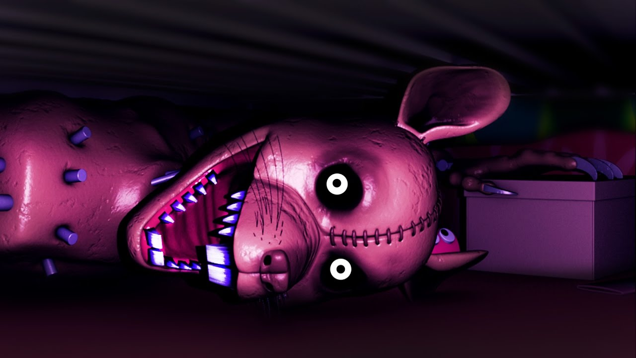 SOMETHING'S UNDER YOUR BED   Five Nights at Candy's 3 ...