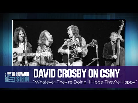 David Crosby Says He 'Pretty Much Destroyed' CSNY With His Drug Use | iHeartRadio