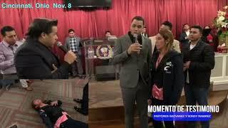 Mira la manifestacion Del Poder De Dios - Ohio 3rd Noche - Pastores Geovanny y Sondy Ramirez