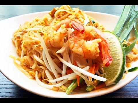 Shrimp Pad Thai Noodles Recipe 泰國蝦炒麵食譜