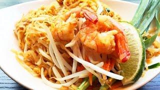 Pad Thai Shrimp Recipe 泰國蝦炒麵, The National Dish Of Thailand
