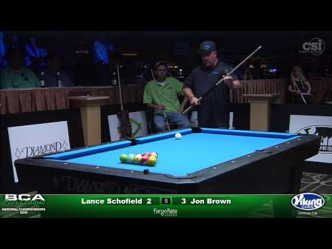 2015 Men's Open Singles: Lance Schofield vs Jon Brown (Final