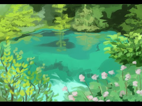 Quick study of landscape