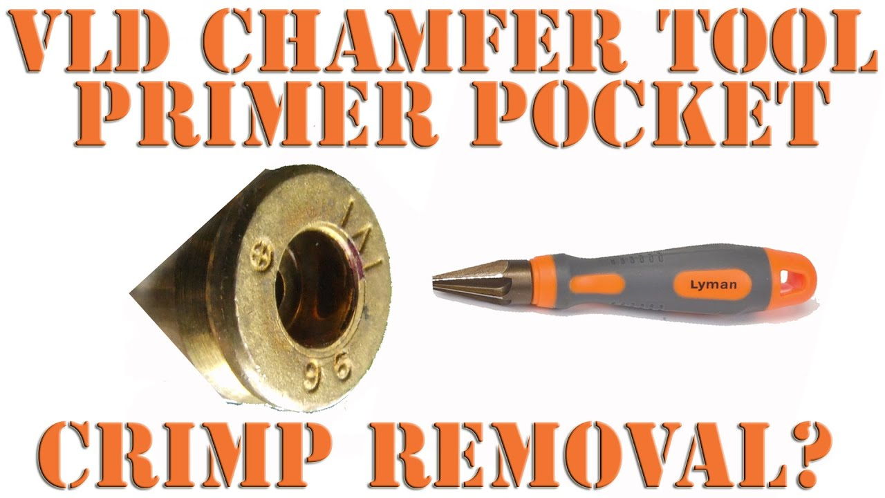 Very Low Drag Lyman Chamfer Tool VLD #  7777789    New!