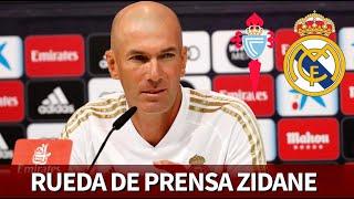 CELTA vs. REAL MADRID   Rueda de prensa previa de ZIDANE   Diario AS