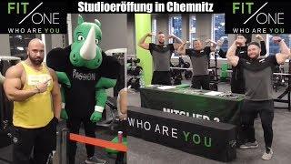 Mister M bei der FitOne Chemnitz Neueröffnung