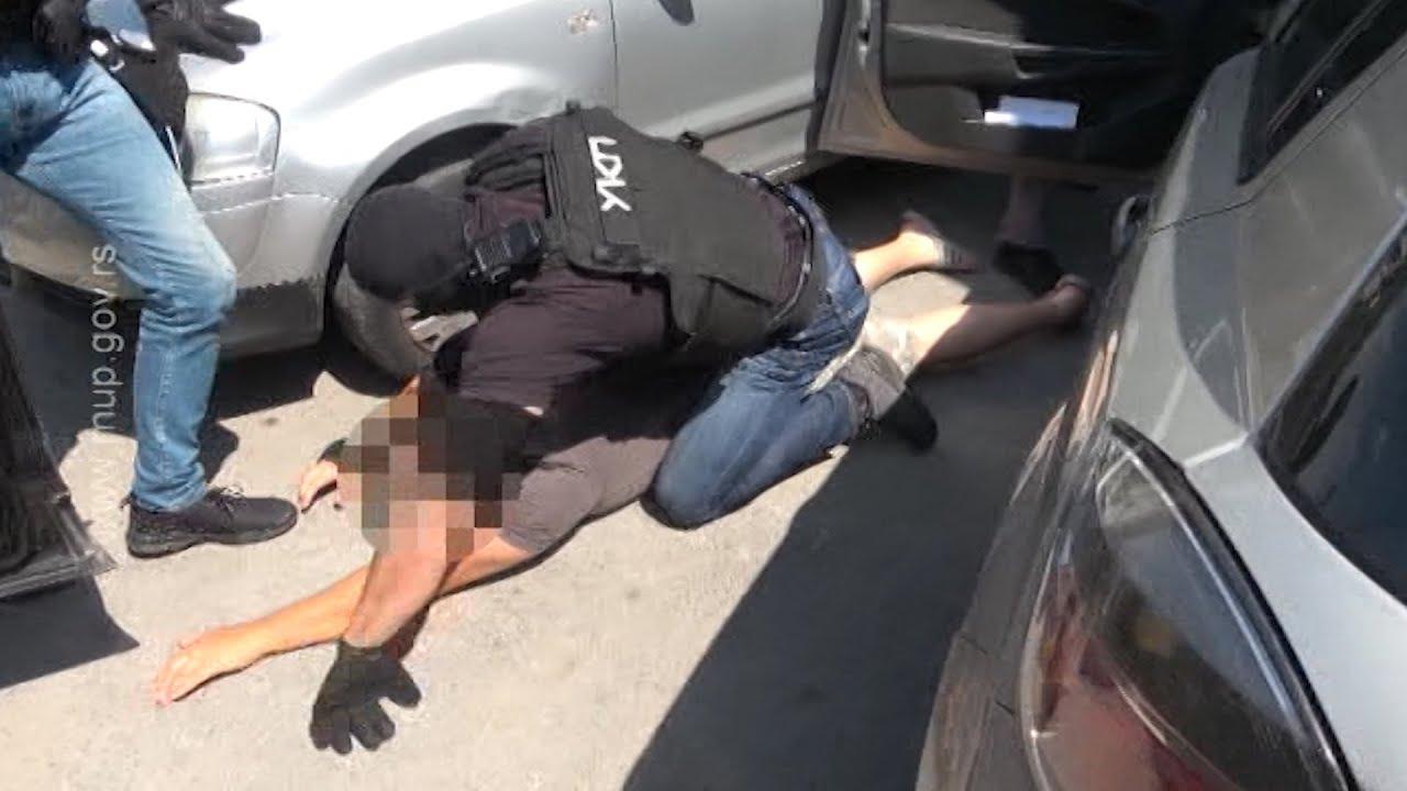 Velika zaplena droge u akciji beogradske policije