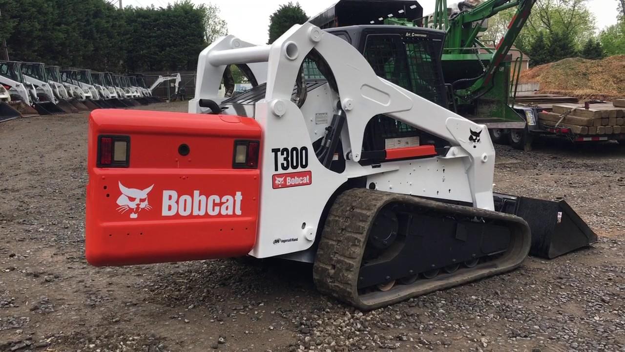 Bobcat T300 Skid Steer Stock 467