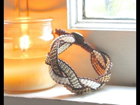 How to Make a Braided Ladder Bracelet