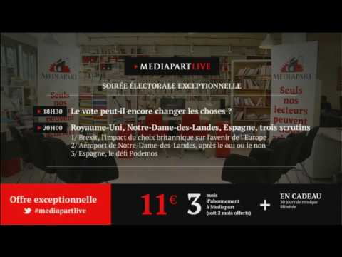 En direct de Mediapart: une soirée électorale exceptionnelle!