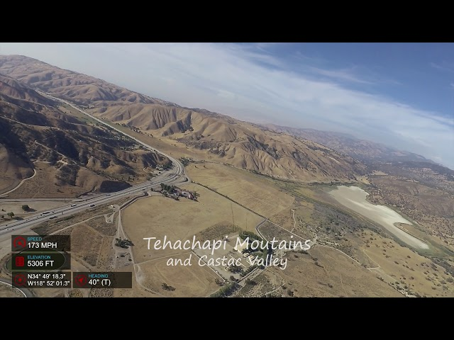Let's Go Flying: Camarillo to Kern Valley