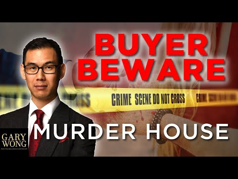 Don't Get Sued For Buying A MURDER House