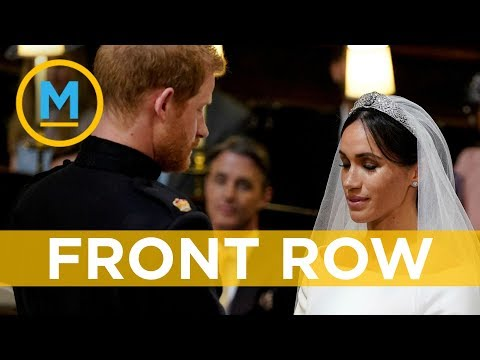 What it was like sitting so close to Meghan Markle during the royal wedding