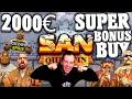 2000€ San Quentin Super Bonus Buy No Limit Slot