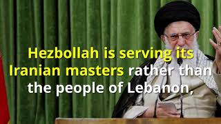 Save Lebanon from Hezbollah