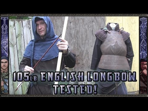Warbow / English Longbow Vs Plate, Chain Maille And Gambeson