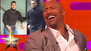 Dwayne 'The Rock' Johnson Reacts To Seth Rogen's Fancy Dress Outfit - The Graham Norton Show