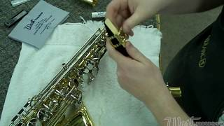 How to Use Your West Music Alto Saxophone Instrument Care Kit