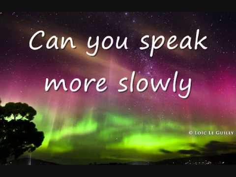 Como se dice Puede Hablar Mas Despacio en Ingles