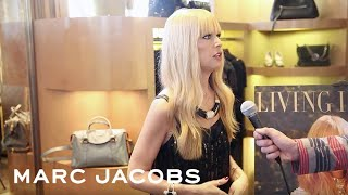 Rachel Zoe At Marc Jacobs Los Angeles