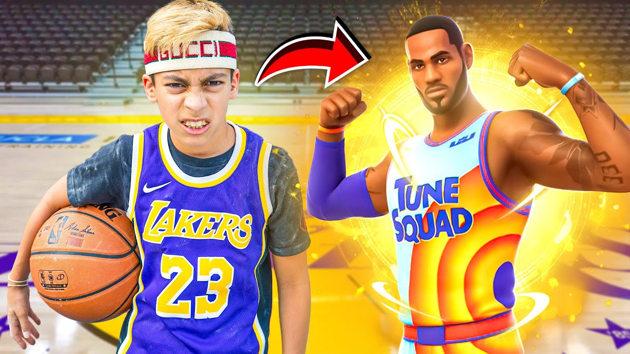I Became LEBRON JAMES For a DAY!! | Royalty Gaming