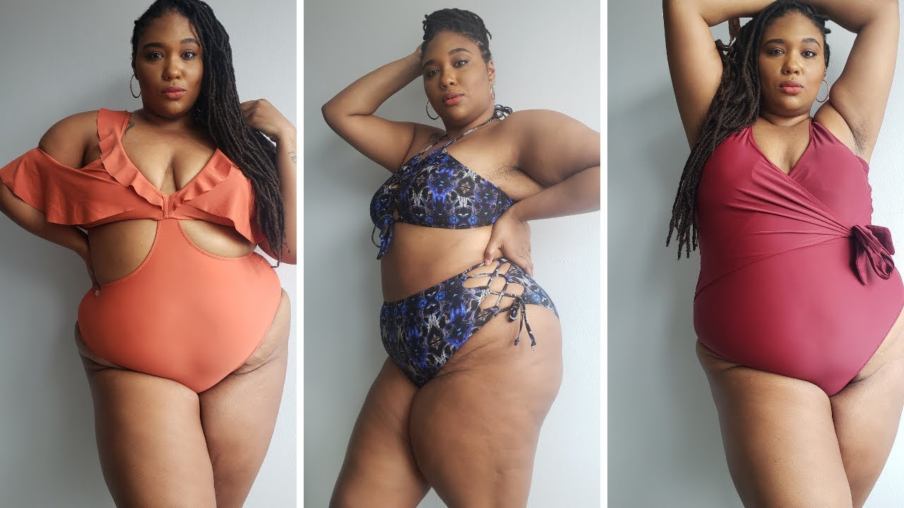 CUPSHE PLUS SIZE Try On & Haul| Plus Size Bathing Suits