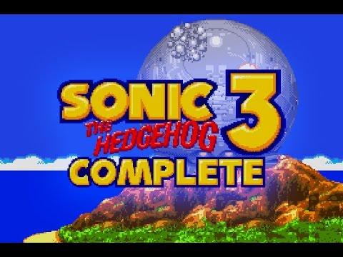Sonic 3 Complete (Rom Hack of Sonic the Hedgehog 3) Bonus Cutscenes
