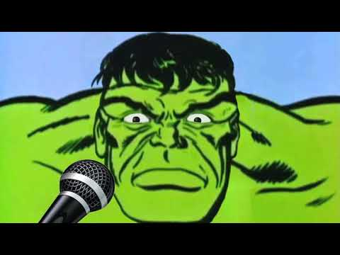 Comic Book Karaoke Lounge 01 - The Hulk sings Rainbow Connection